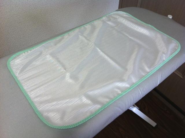 アイロン掛け専用のあて布を使えば、アイロンがかけやすい!