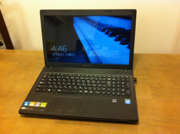 Windows8 Lenovo G500でWi-Fi制限あり